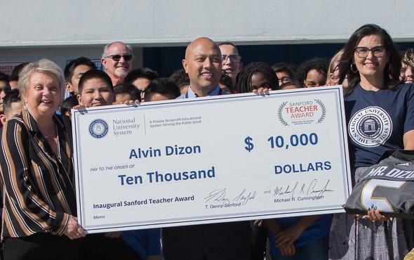 Alvin Dizon Recognized as an Inspirational Teacher